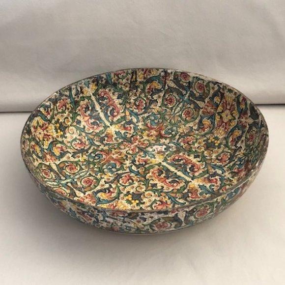 Vintage Other - Vintage Paper Mache Bowl